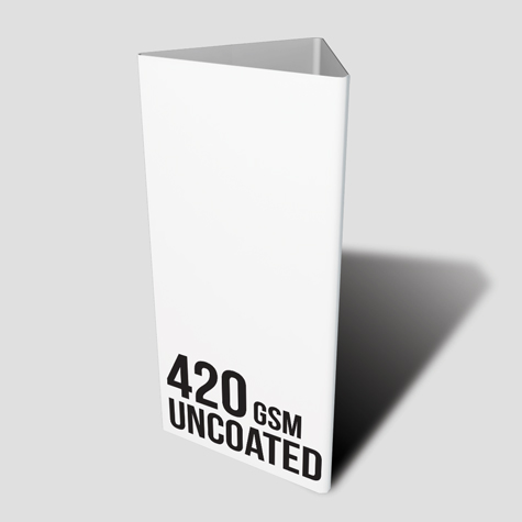 420gsm Uncoated Table Talker