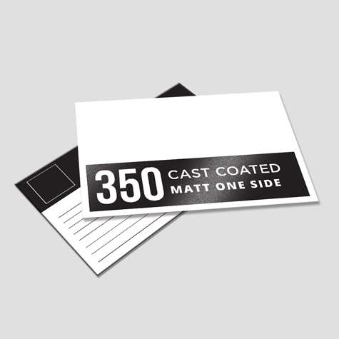 350 Cast Coated Artboard Matt One Side